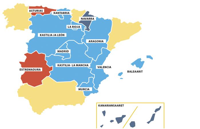 Espanjan Maakunnat