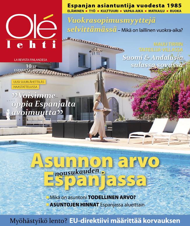 Olé-lehti 10/2017