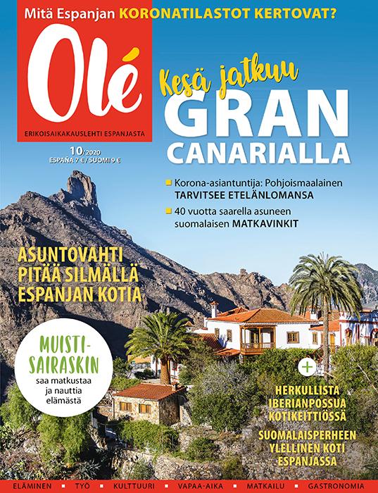 Olé-lehti kansi 10-2020