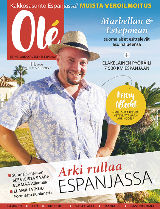 Olé-lehti marraskuu 2020